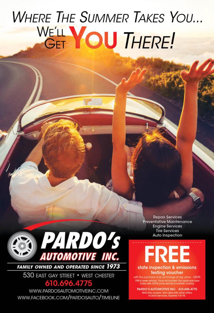 Pardo's Automotive Inc. Advertisement