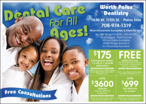 Worth Palos Dentistry Advertisement