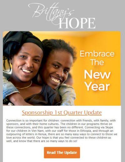 Sponsorship Update Email