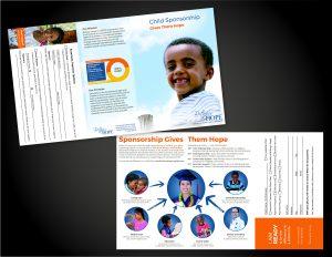 Child Sponsorship Trifold Brochure